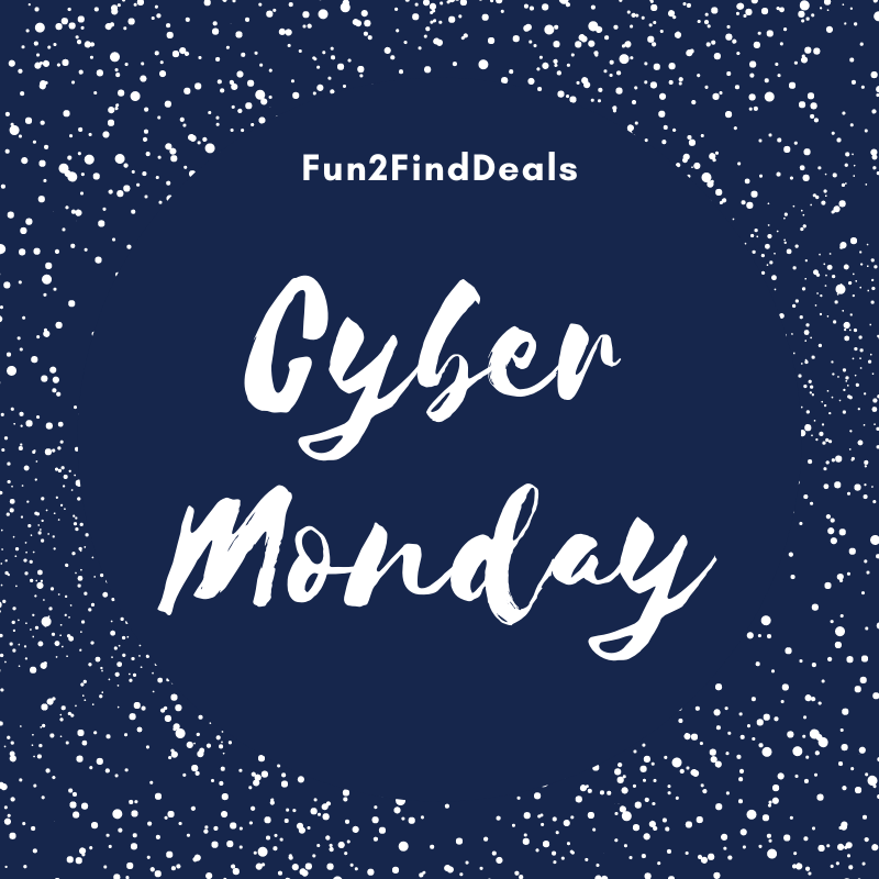 Cyber Monday Fun2find Deals